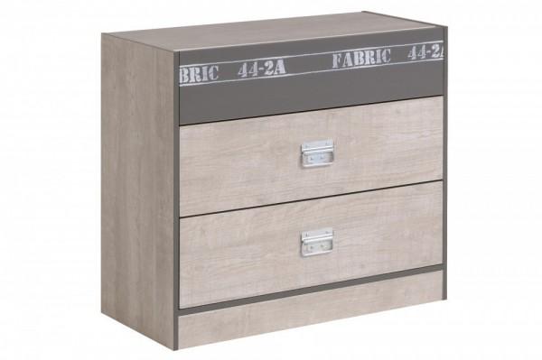 Parisot Fabric - Kommode Breite 87 cm