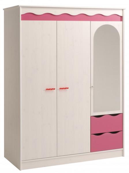 Parisot Kleiderschrank Lilu 136 cm